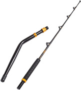 Bent Butt Fishing Rod 2-piece Saltwater Offshore Boat Trolling Rods Fish Pole