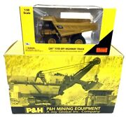 Pandh Model 4100a Electric Mining Equipment And Cat 777d Off Highway Truck Die-cast