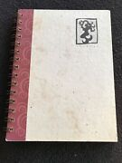 Extremely Rare New Starbucks 1998 Journal With Vintage Siren Design