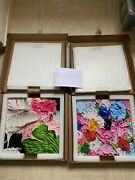 2 Damien Hirst Small Fruitfull And Forever Set 39x39 Cm Brand New Limited Print