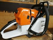 New Ms660 Stihl Chainsaw With Wrap Handlebar Large Clutch Cover Oem 066 Ms661 Ms