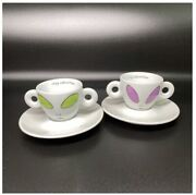 Illy Collection Rosenthal Illy Collection 2001 Tea Cup 2 From Japan F/s Unused