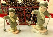 Kim Anderson I'm Making My Way Home Enesco Christmas Figurine Collectible Bisque