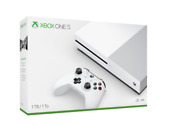 Microsoft Xbox One S Console [1tb White 4k 1 Month Game Pass Xbox Live Gold] New