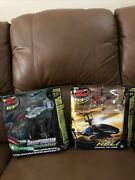 Air Hogs Rc Lot Of 2 Sharp Shooter Tracer Fire And Havoc Heli Helicopter