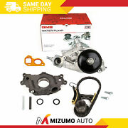 Timing Chain Kit Oil And Water Pump 07-14 Chevrolet Gmc Cadillac 5.3 6.0 6.2l Ohv