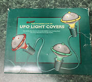 3 Boxes Of Reproduction Ufo Light Covers - Christmas Retro Lights Vintage Style