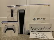 Ps5 Sony Playstation 5 Console Disc Version Bundle In Hand Ready To Ship Today