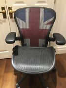 Limited Edition Herman Miller Aeron Chair Very Good Condition Lumbar Support