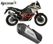 Exhaust Muffler Hpcorse Sps Carbon Stainless Steel For Ktm 1190 Advent 20132016
