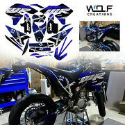 Yamaha Wr250r Wr250x All Years Graphics Kit Decals Stickers Full Kit
