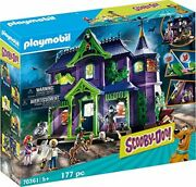 Playmobil Scooby Doo Adventure In The Mystery Mansion Playset 70361 - New 2020