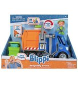 New Blippi Recycling Truck W/ Figure And Sound Garbage Trash Vehicle