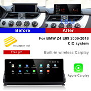 Android 10 Car Gps Navigation Video Wireless Carplay Bt For Bmw Z4 E89 2009-2018