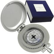 Kasper-richter Metal Vintage Compass Gift Box Sports Compass Made In Germany