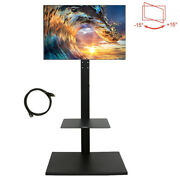 Bedroom Corner Floor Tv Stand/base With Swivel Mount For 32-65 Inch Lcd Led Tvs