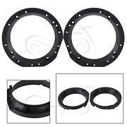 Motorcycle Front Speaker Adapters Bracket Rings For Harley Electra Glide Classic