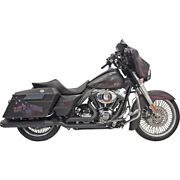 Bassani Dual Down Under Blk Sys. For 09-16 H-d Road King Efi-flhr