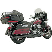 Bassani B4 2-into-1 Sys. Blk For 15-16 H-d Ele-glide Ultra Clas. Low-flhtcul