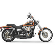 Bassani Firepower Series Exhaust For 07-10 H-d Dyna Super Glide Efi-fxd