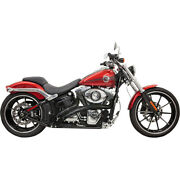 Bassani Radial Sweeper Blk For 07 H-d Softail Stand. Efi-fxst