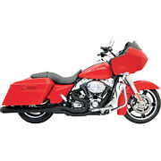 Bassani Road Rage Ii Mega Pwr 2-1 Sys. Blk For 95-06 H-d Ele-glide Stand.flht