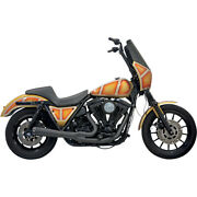 Bassani Road Rage 2-into-1 Sys. Blk 87 H-d Low Rider Chrome-fxrc