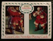 Coca Cola 1993 Nostalgia Limited Edition 2 Sealed Decks Of Playing Cards In Tin
