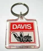 Davis Trencher Acrylic Two-sided Collectible Key Chain Ring 500 700 70 120 Case