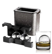 Ice Cube Ball Sphere Mould Maker Tool Round Party Whiskey Ice Tray Maker