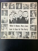 """The Beatleswhat A Shame,mary Jane Had A Pain At The Party12"""" Singler 8028"""