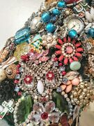 Blingy Handmade Christmas Tree Packed With Signed And Designerjewelry 23 Tall
