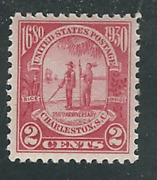 683... 2 Cent...charleston S.c....3 Stamps...mint Never Hinged