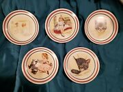 Chessie Kitten Railroad Cat Plates Set Of 10 B And O Railroad Museum Limited