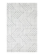 Solo Rugs - Kali Contemporary Modern Hand Loomed Wool Blend Area Rug