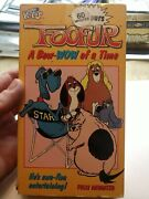 Foofur - A Bow-wow Of A Time 1986 Vhs Video Children's Kids' Animated Cartoons
