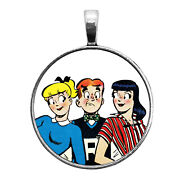 Archie Veronica And Betty Key Ring Necklace Cufflinks Tie Clip Ring Earrings
