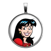 Veronica Key Ring Necklace Cufflinks Tie Clip Ring Earrings Riverdale Archie
