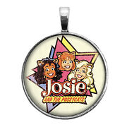 Josie And The Pussycats Key Ring Necklace Cufflink Tie Clip Ring Earrings Archie