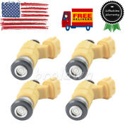 4 X For Bosch Fuel Injector Cdh275 For Marine Yamaha F150 Outboard Mitsubishi Us
