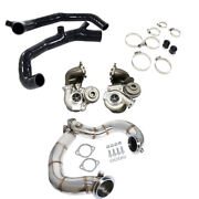 Td04l Billet 6+6 Upgrade 16t Turbo+2 Inlets+ Catless Downpipe Fit Bmw 335i N54