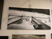 Original Oil Painting D Day Painting World War 2 Omaha Beach From Capra Photo
