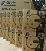 Smoke Alarm Detector Ionization Sensor Battery Operated Home Fire Safety 12-pack