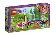 Lego Miaand039s Horse Trailer - 41371 [friends 216 Pieces Ages 6+ Animal Toy] New