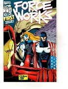 Force Works 1 Ironman Fold Out Pop Up Cover Marvel Comics Pa1