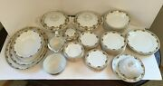 Huge Vintage Alfred Meakin China Lot Plates Trays Saucers Dishes Tea Cups Andmore