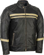 Motordrome Antique Riding Jacket Black Small Highway 21 489-1028s