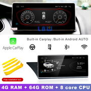 Android 10.0 Car Gps Video Player + Carplay For Audi A4 A4l 2004-2008 + Lvds Box
