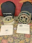 Lamson Litespeed Ls4 Salmon Fly Reel With Spare Spool Backing And Fly Lines