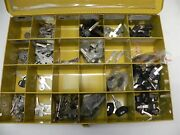 Lot Of 220 Gm Chevrolet Nos Key Blanks From Dealership And Kar Products Cabinet